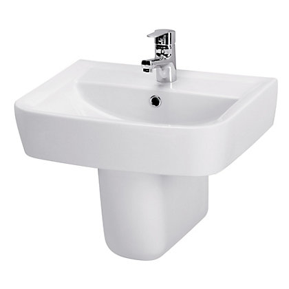 Image for Pure Basin and Semi Pedestal - 55cm from StoreName