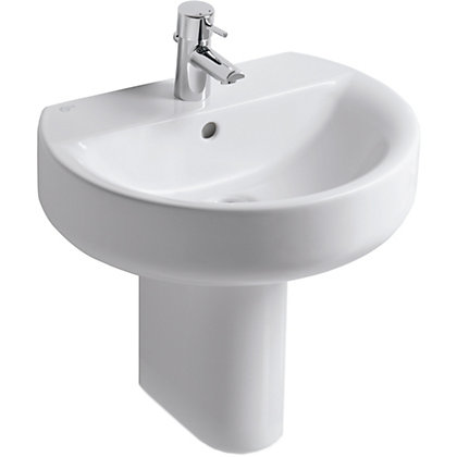 Image for Ideal Standard Senses Sphere Basin and Semi Pedestal - 55cm from StoreName