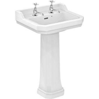 Ideal Standard Pedestal Bathroom Sink Homebase.co.uk