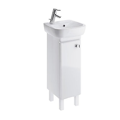 Image for Facile Bathroom Cabinet for Basin - Right Handed - 40cm - White from StoreName