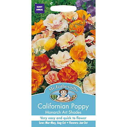 Image for Californian Poppy Monarch Art Shades (Eschscholzia Californica) Seeds from StoreName