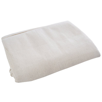 Image for Homebase Cotton Twill Dust Sheet 0.9mx7.3m from StoreName
