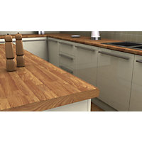 Mali Oak Effect Laminate Worktop 38mm