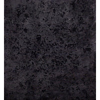 Lunar Night Black Laminate Worktop 38mm