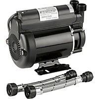 Bristan 2.0 Bar Single End Shower Pump - Black