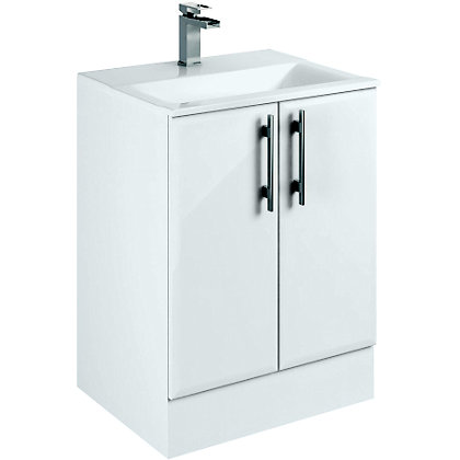 Image for Winchester Freestanding Vanity- 600mm- White from StoreName