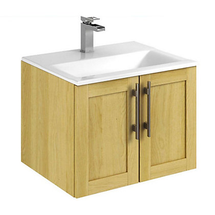 Image for Canterbury Modular 2 Door Unit - Oak - 600mm from StoreName