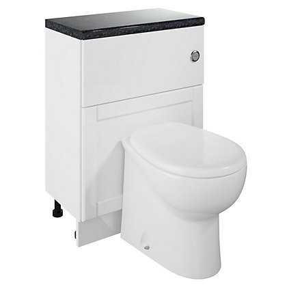 Image for Canterbury Modular WC Unit & WC - White - 600mm from StoreName