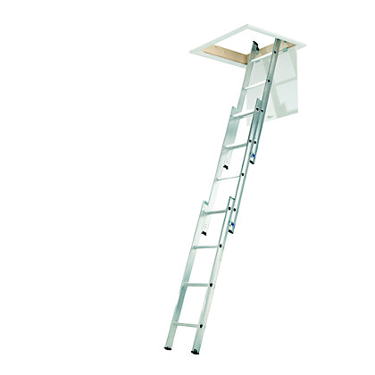 Image for Abru Loft Ladder 3 Section Aluminium from StoreName