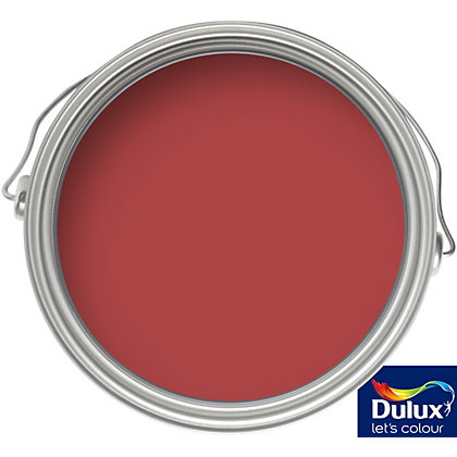 Image for Dulux Roasted Red - Matt Emulsion Colour Paint - 50ml Tester from StoreName