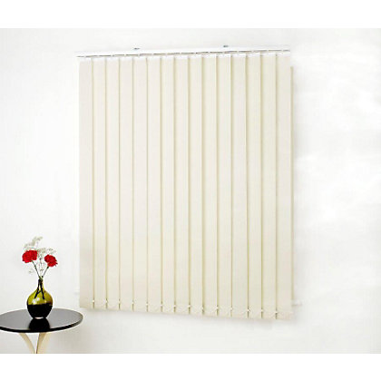 Image for Swish Cordless Vine Leaf White Vertical Blind - 122 x 137cm from StoreName