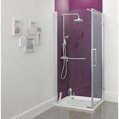 Image for Diamond Pivot Shower Shower Enclosure - 900 x 900mm from StoreName