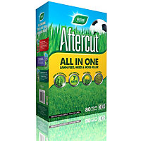 Aftercut All In One Lawn Feed Weed and Moss Killer (80sq m range) - 2.8kg