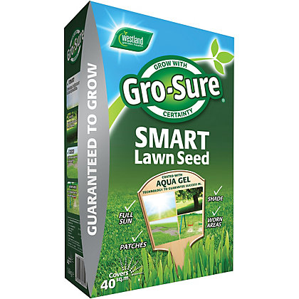 Image for Gro-Sure Smart Grass Seed - 1.6kg from StoreName