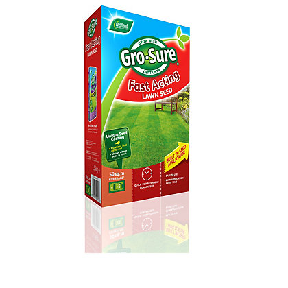 Image for Westland Gro-Sure Fast Acting Lawn Seed - 1.6kg from StoreName