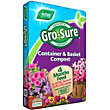 Gro-Sure Container and Basket Compost with 4 Months Feed - 50L