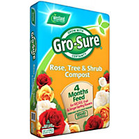 Gro-Sure Rose, Tree and Shrub Compost - 50L