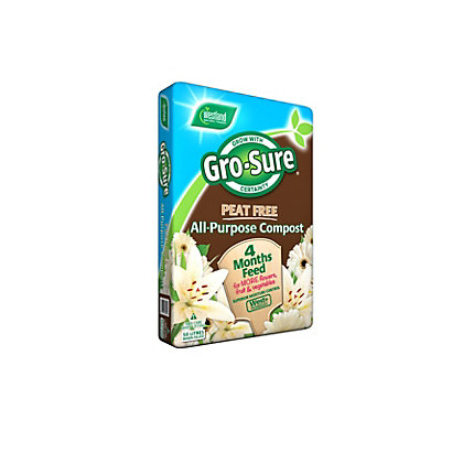 Image for Gro-Sure Peat Free Compost - 50L from StoreName
