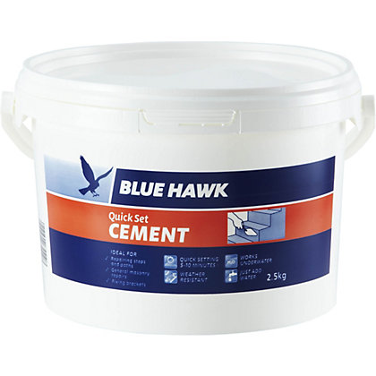 Image for Blue Hawk Quick Set Cement Bucket - 2.5kg from StoreName