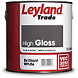 Leyland High Gloss Brilliant Write Trade Paint 2.5L