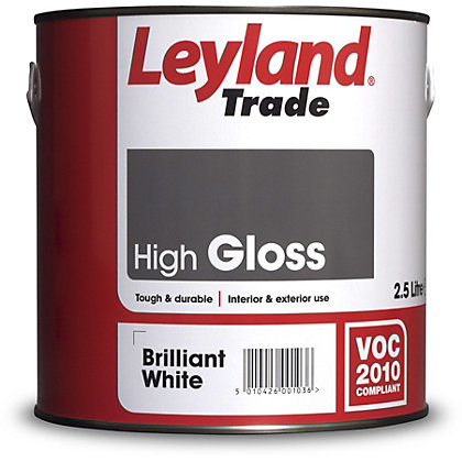 Image for Leyland High Gloss Brilliant Write Trade Paint 2.5L from StoreName