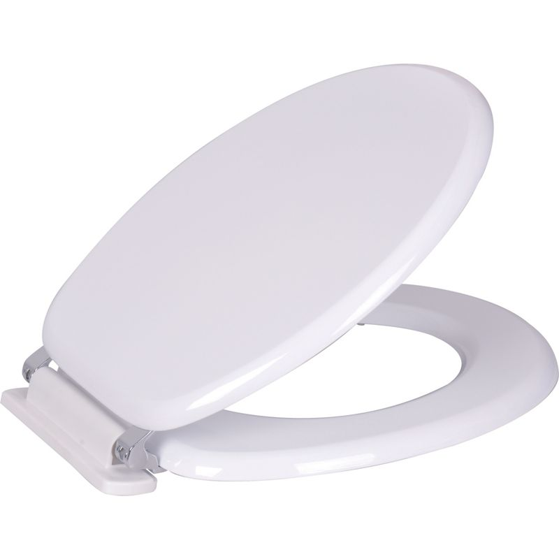 white mdf soft close toilet seat. Black Bedroom Furniture Sets. Home Design Ideas