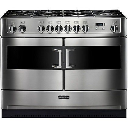 Image for Rangemaster Elite SE 82030 Dual Fuel Cooker - Silver Matt from StoreName
