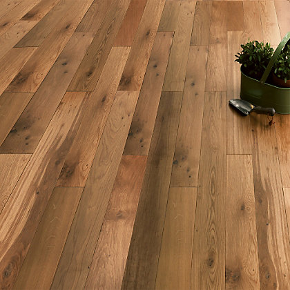 Image for Engineered Natural Oak Flooring - Collect In Store from StoreName