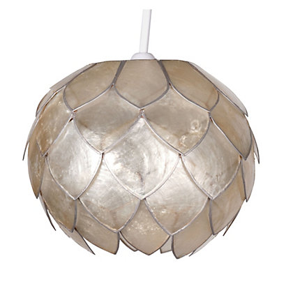 Image for Capiz Bud Shade - Champagne - 15cm from StoreName