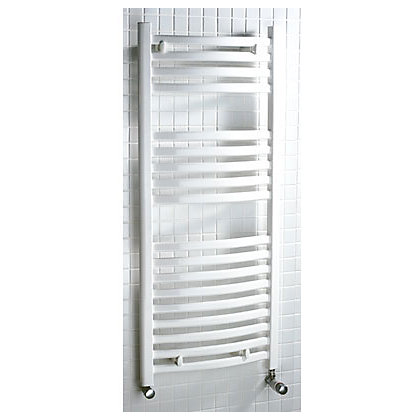 Image for Tuscana Heated Towel Rail - 1150 x 500mm - White from StoreName