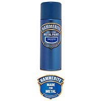 Hammerite Blue - Exterior Smooth Aerosol Paint - 400ml
