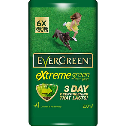Image for Evergreen Extreme Green Lawn Food - 200M2 Bag from StoreName
