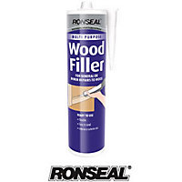 Ronseal Multipurpose Wood Filler Cartridge - Natural -310ml
