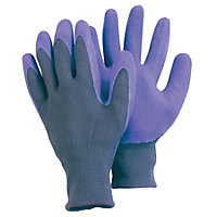 Comfi Gloves in Blue & Purple - Large