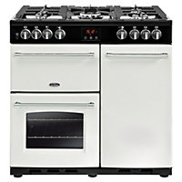 Belling Farmhouse 90DFT Dual Fuel Range Cooker - 90cm - Icy Brook