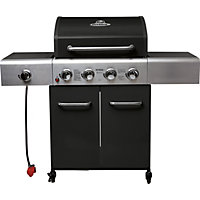 Outback Apollo 4 Burner Black Gas BBQ - Home Delivery
