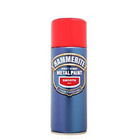 Hammerite Red - Exterior Smooth Aerosol Paint - 400ml