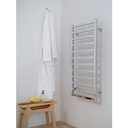 Image for Wentbridge Heated Towel Rail - 1000 x 500mm - Chrome from StoreName