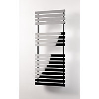 Queensbury Heated Towel Rail - 788 x 500mm - Chrome