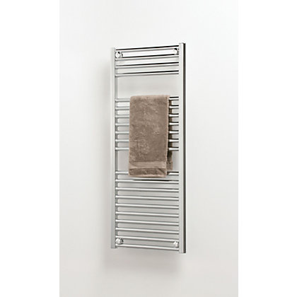 Image for Richmond Heated Towel Rail - 764 x 500mm - Chrome from StoreName