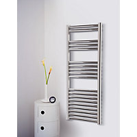 Ashby Heated Towel Rail - Chrome 1175 x 500mm
