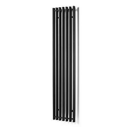 Image for Rochester Designer Radiator - 1300mm x 390mm - Black from StoreName