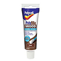 Polycell - Polyfilla For Wood - General Repairs - Dark -75g