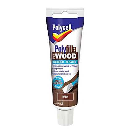 Image for Polycell - Polyfilla For Wood - General Repairs - Dark -75g from StoreName
