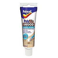 Polycell - Polyfilla For Wood - General Repairs - Light - 75g