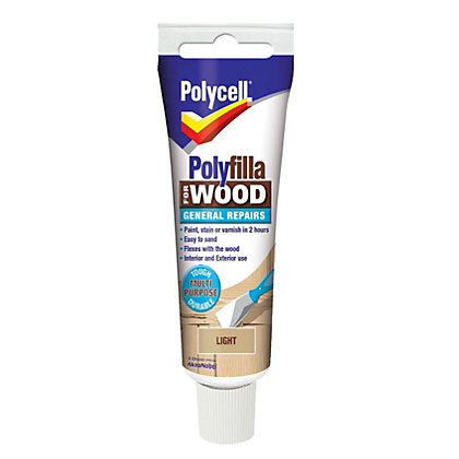 Image for Polycell - Polyfilla For Wood - General Repairs - Light - 75g from StoreName