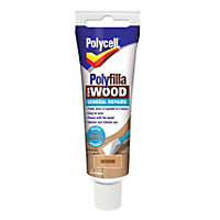 Polycell - Polyfilla For Wood - General Repairs - Medium - 75g