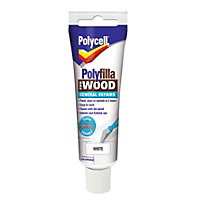 Polycell - Polyfilla For Wood - General Repairs - White - 75g