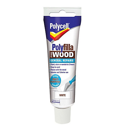 Image for Polycell - Polyfilla For Wood - General Repairs - White - 75g from StoreName