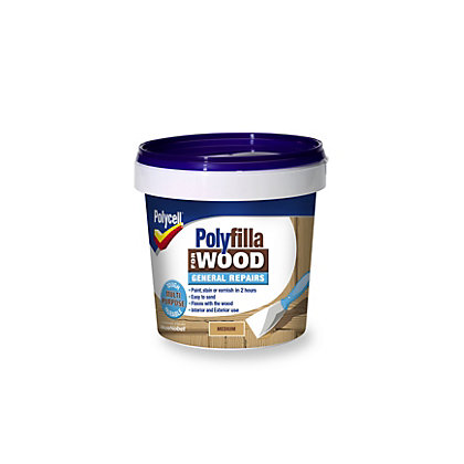 Image for Polycell - Polyfilla For Wood - General Repairs - Medium - 380g from StoreName